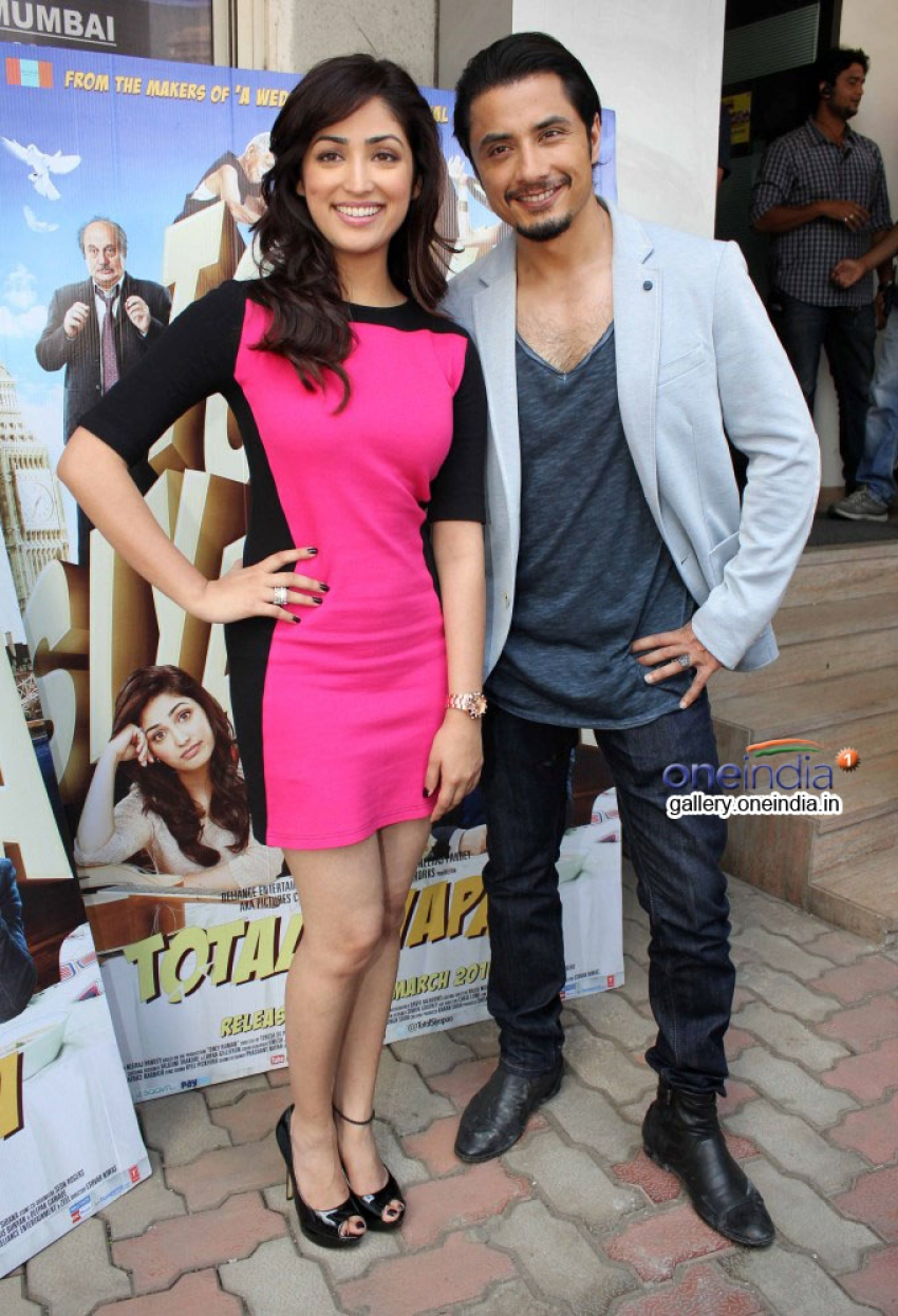Ali Zafar and Yami Gautam at audition of Love Story Again Photos