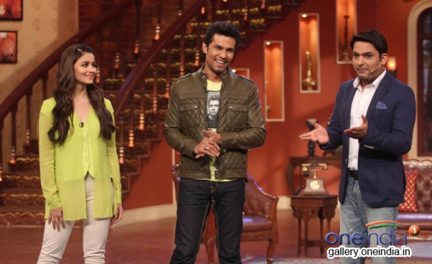 Highway promotion on the sets of Comedy Nights With Kapil Photos