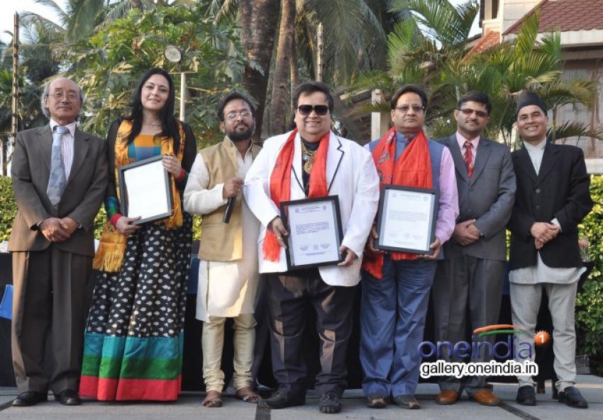 Bappi Lahiri at Nepal's UNESCO event Photos