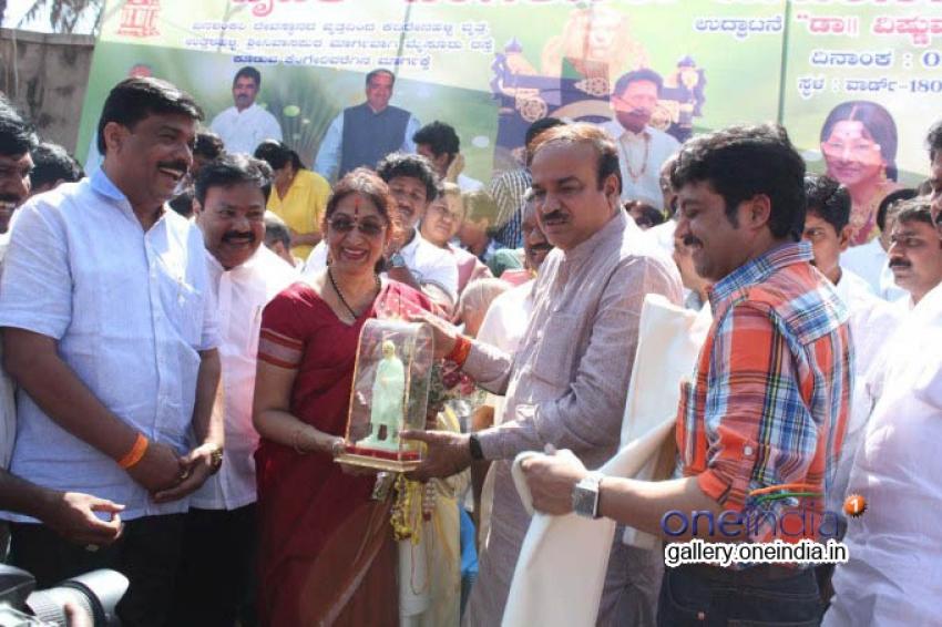 Dr Vishnuvardhan Road - Naming Ceremony Photos