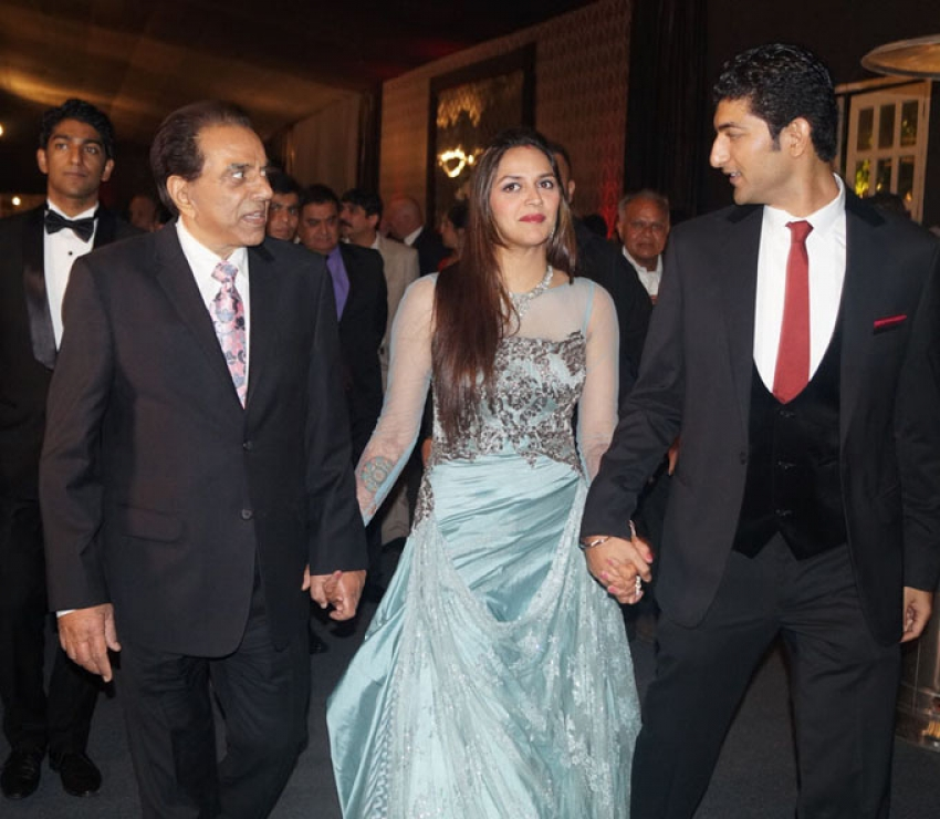 Ahana Deol's Delhi Wedding Reception Photos