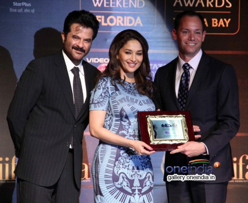 Saif, Kareena, Madhuri and Bipasha at IIFA 2014 press conference Photos