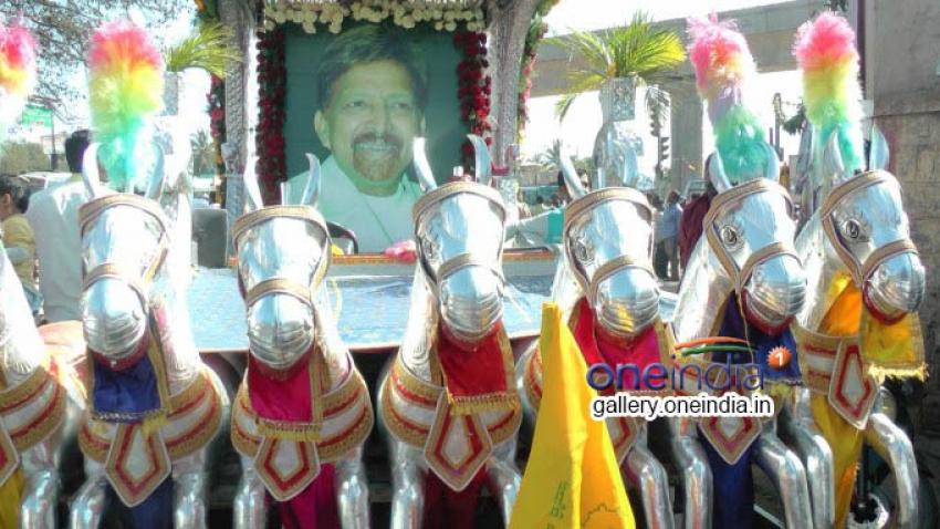 Road between Banashankari and Kengeri has been named after Dr. Vishnuvardhan Photos