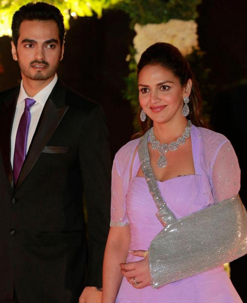 Ahana Deols Delhi Wedding Reception Photos Filmibeat