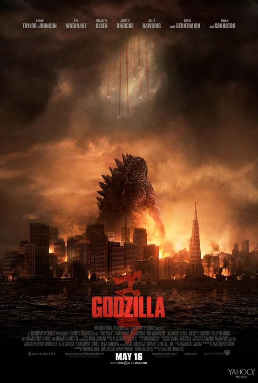 Godzilla 2014 Photos