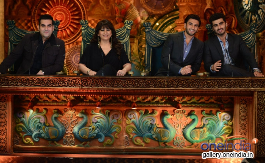 Gunday Film Promotion On The Sets Of Comedy Circus Photos