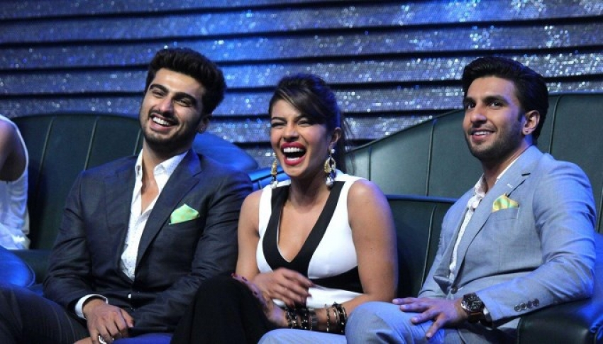 Promotion of film Gunday on sets of DID season 4 Photos