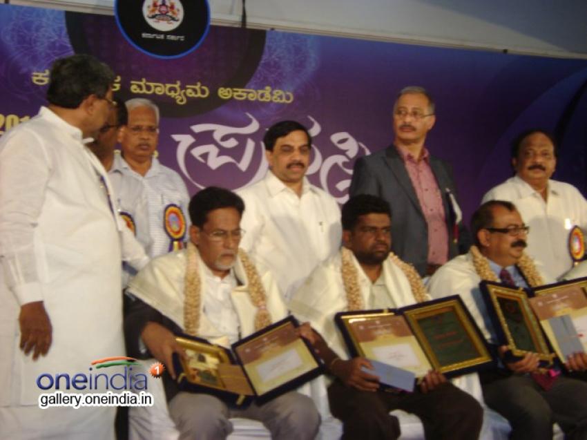 Karnataka Media Academy Awards 2014 Photos