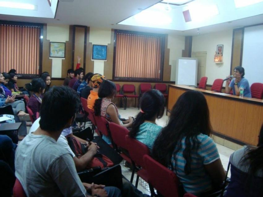 Lakshmi Screening at HR College Mumbai Photos