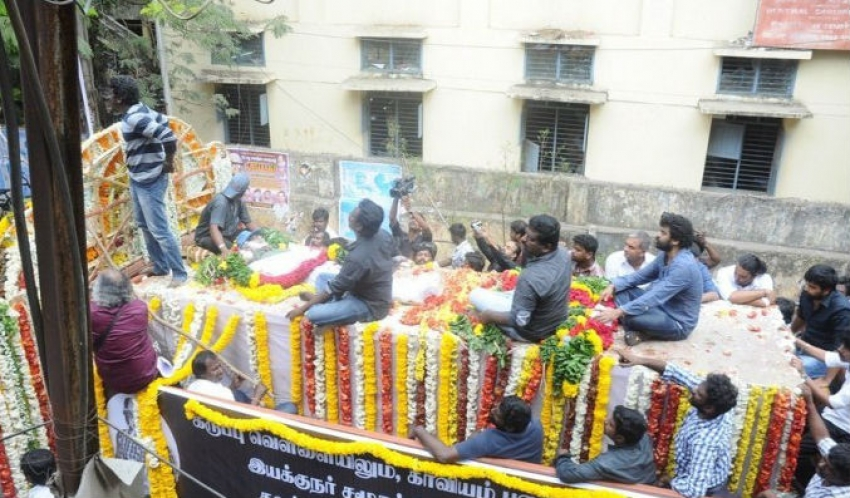 Last Public Journey of Balu Mahendra Photos
