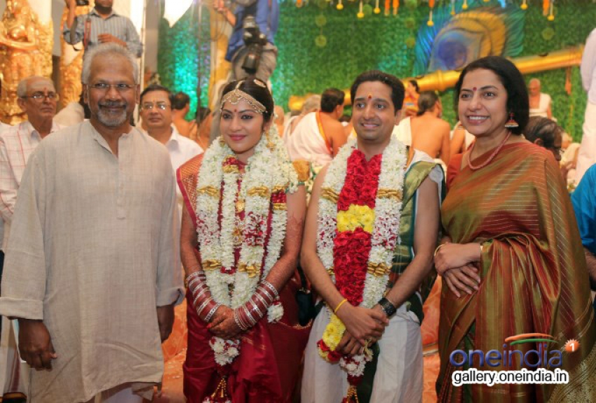 VJ Ramya Weds Aparajith Photos