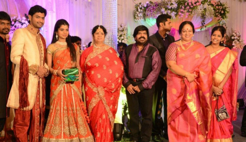T Rajendar Daughter Ilakiya Wedding Reception Photos