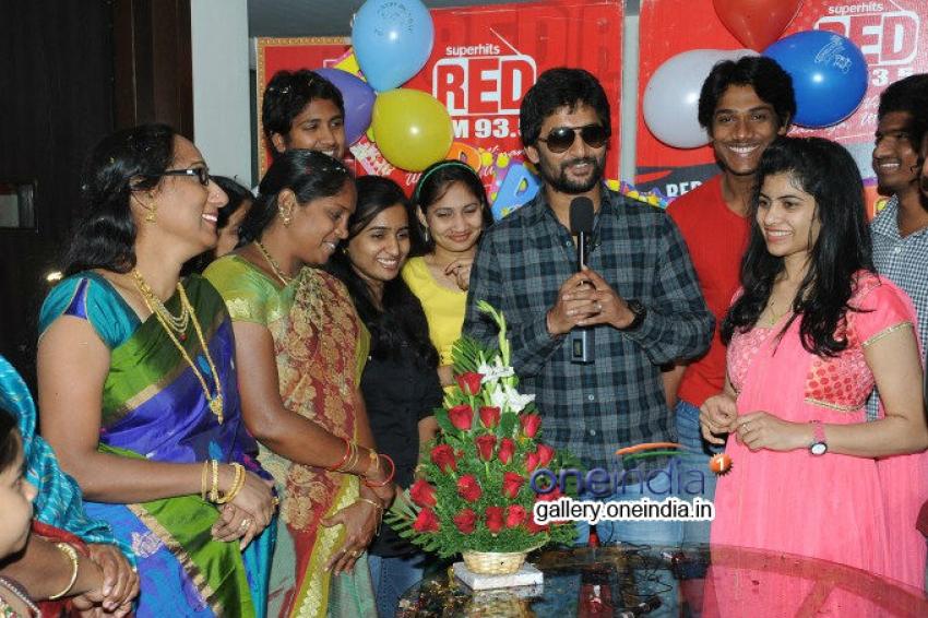 Nani Birthday Celebrations at Red FM Photos