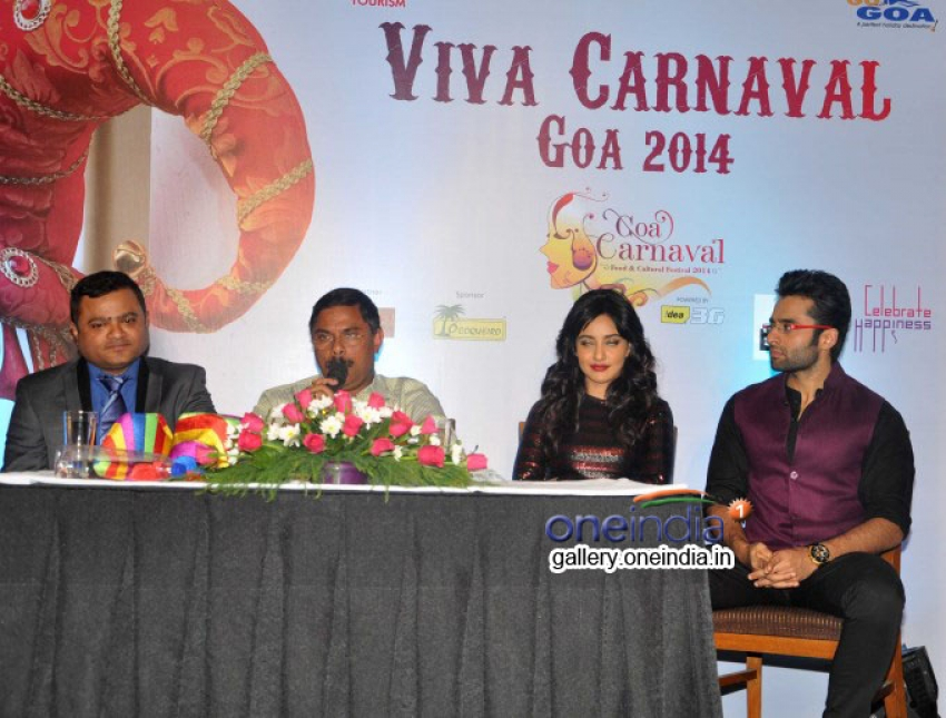 Announcement of Goa Carnival 2014 Photos