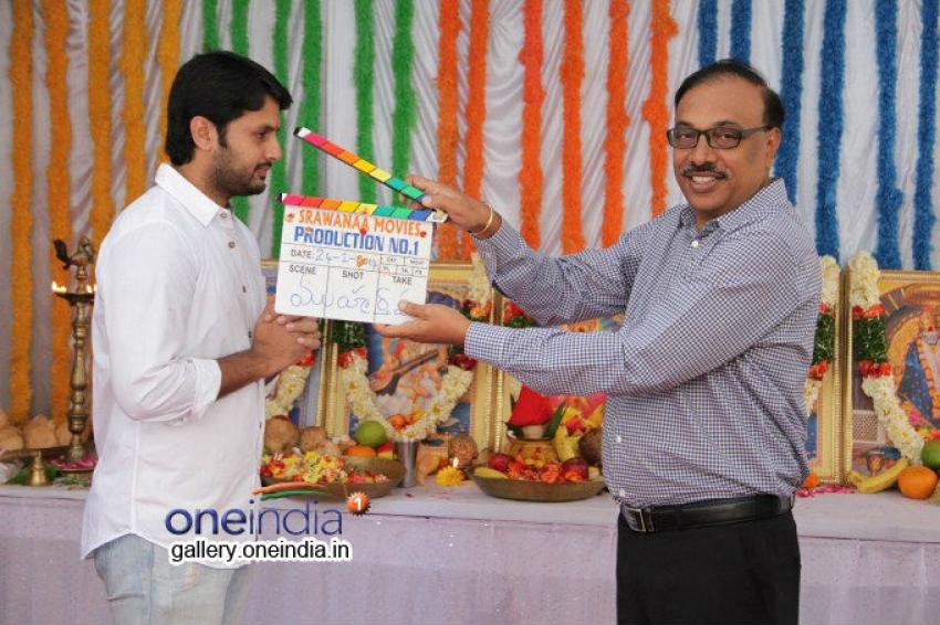 Nithin New Movie Launch Pics Photos
