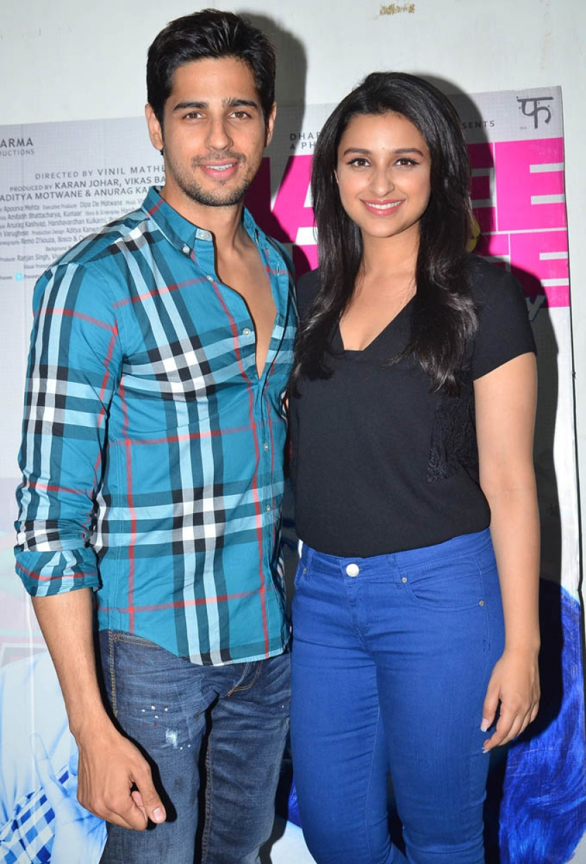Parineeti and Sidharth promote Hasee Toh Phasee Photos