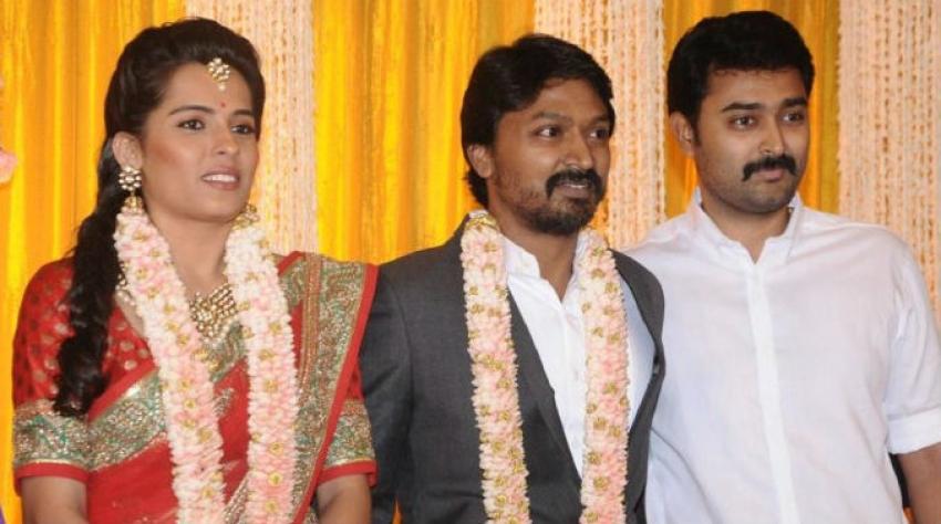 Actor Krishna Wedding Reception Photos
