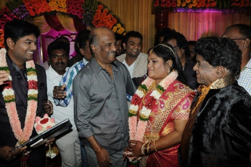 Stunt Master Kittu daughter Marriage Reception Photos
