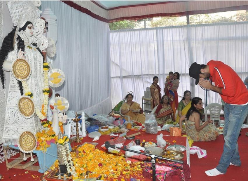 Anurag Basu's Saraswati Pooja Celebrations Photos