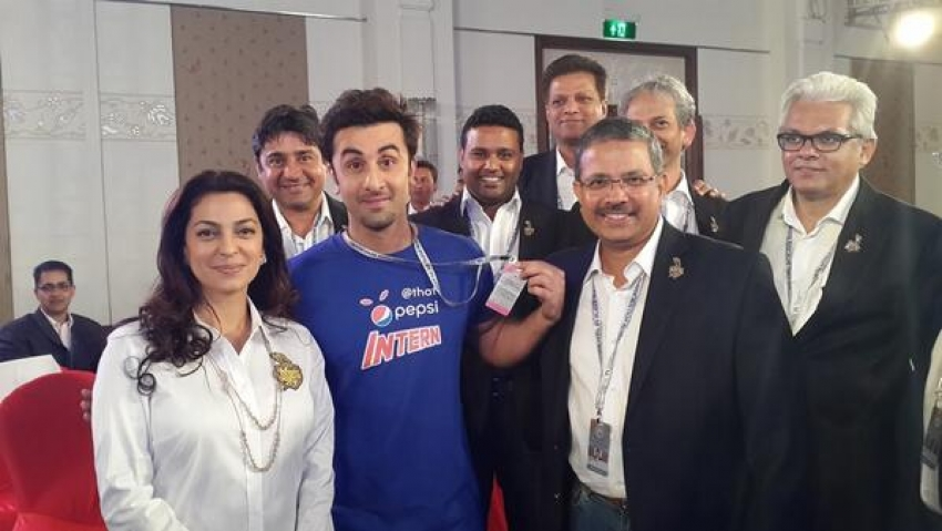 Ranbir Kapoor At IPL 2014 Auction Photos