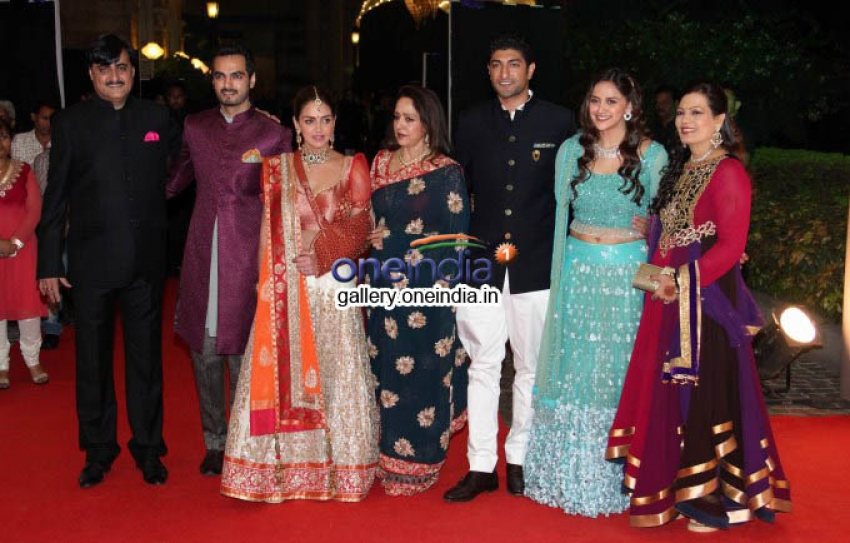 Sangeet Ceremony of Aahana Deol and Vaibhav Vora Photos