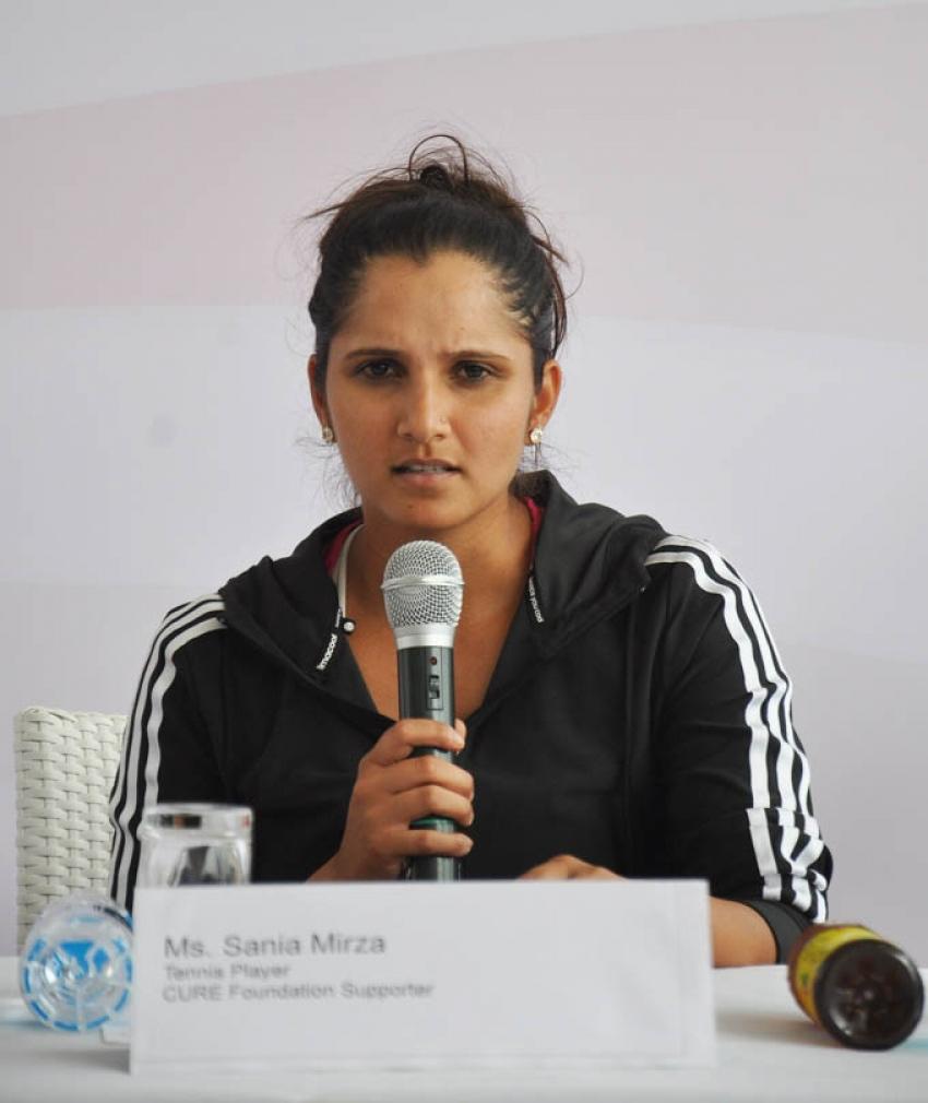 Sania Mirza Kick Starts Cancer Crusaders Invitation Cup Photos