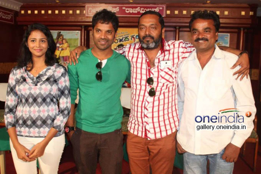Anjada Gandu Success Meet Photos