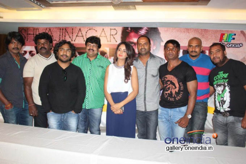 Shivajinagara Movie Press Meet Photos