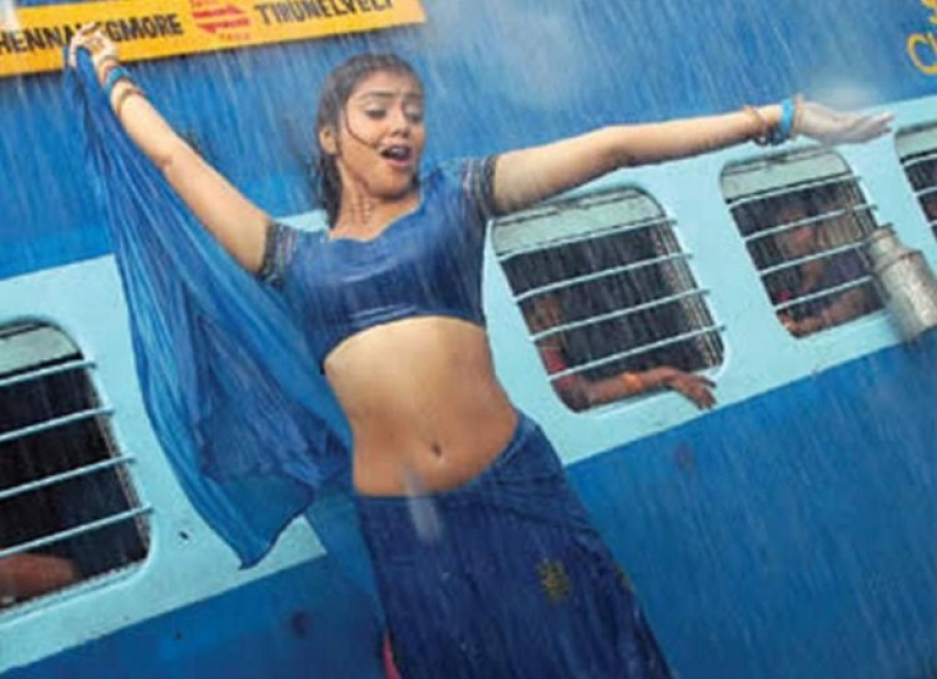 South Indian Beauties Sizzling in Rain Photos
