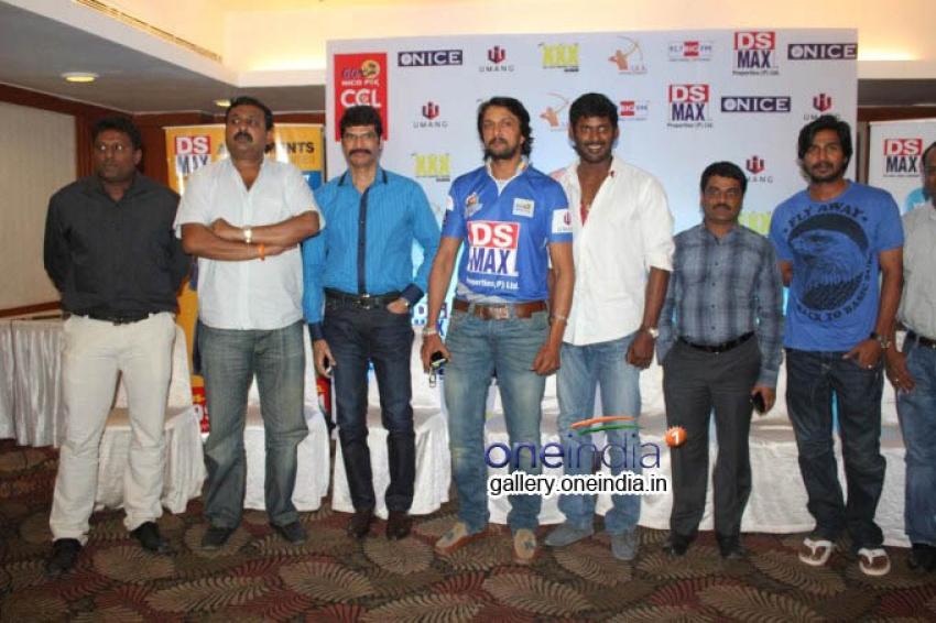 Karnataka Bulldozers Press Meet Photos