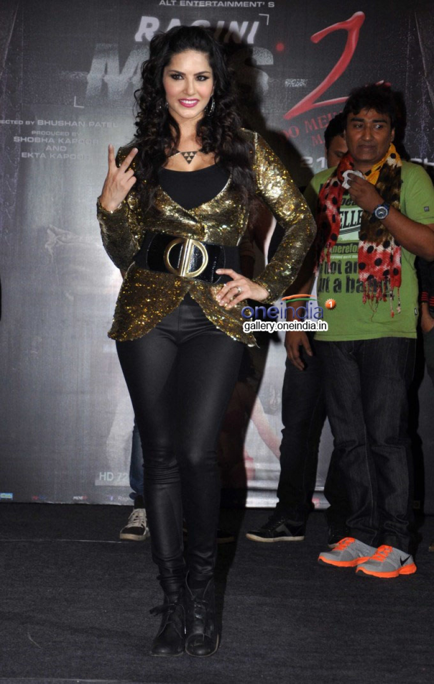 Sunny Leone at Baby Doll song launch Photos