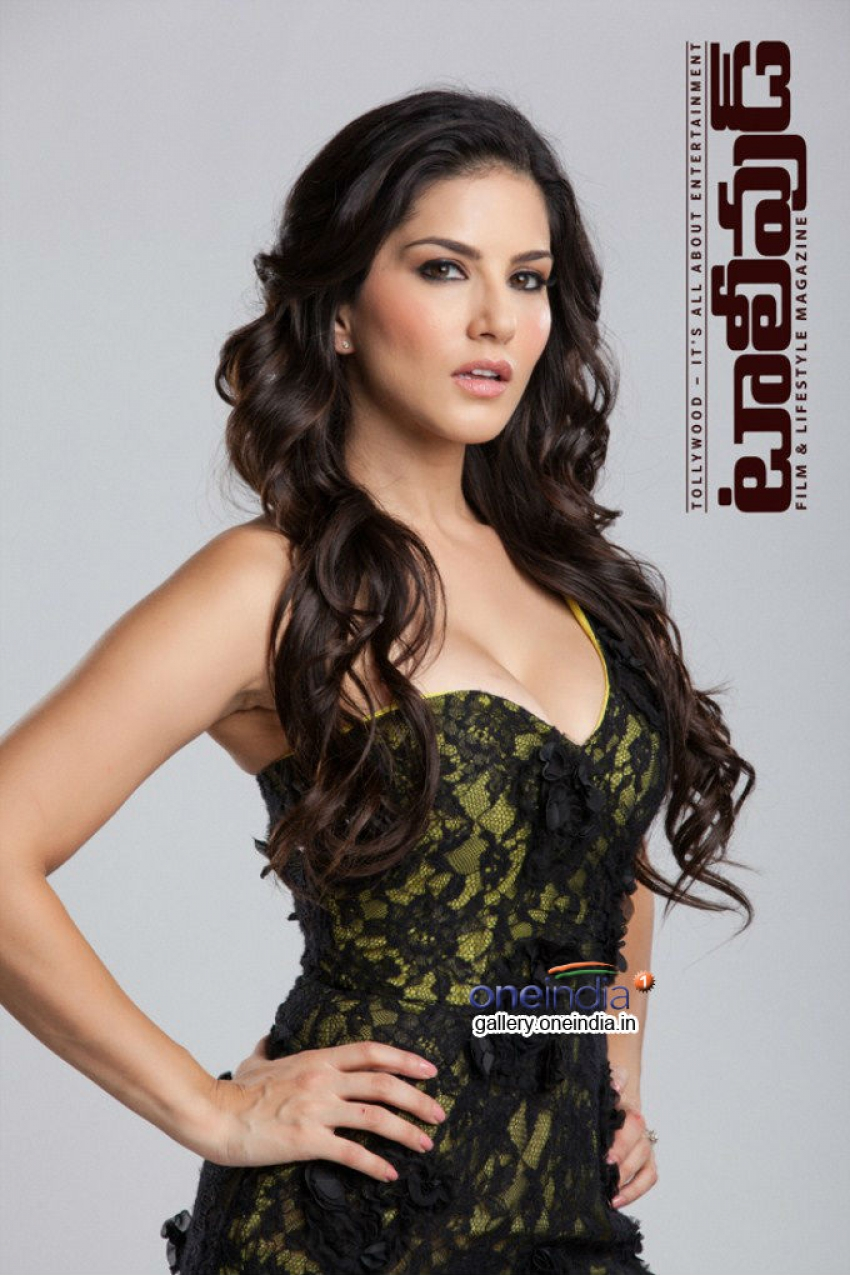 Sunny Leone Photoshoot for Tollywood Magazine Photos