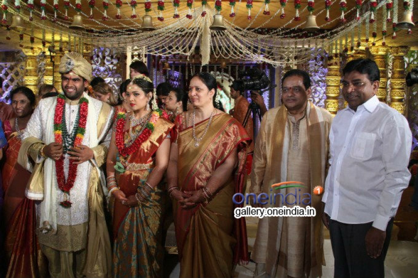Surya CMD Daughter Tejaswini Wedding Photos