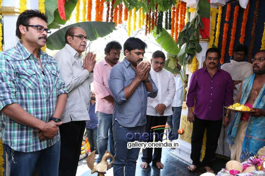 Venkatesh's Radha Movie Launch Photos