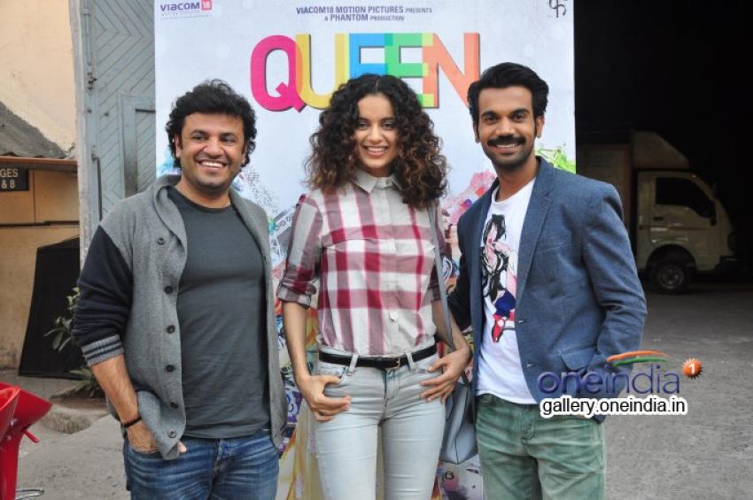 Kangna Ranaut promotes Queen at Mehboob Studios Photos