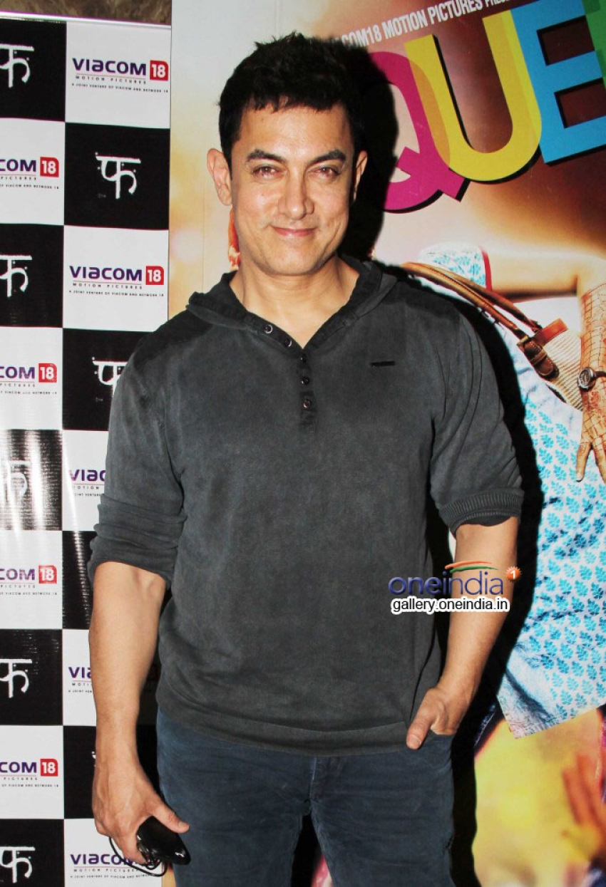 Queen film special screening for Aamir Khan Photos