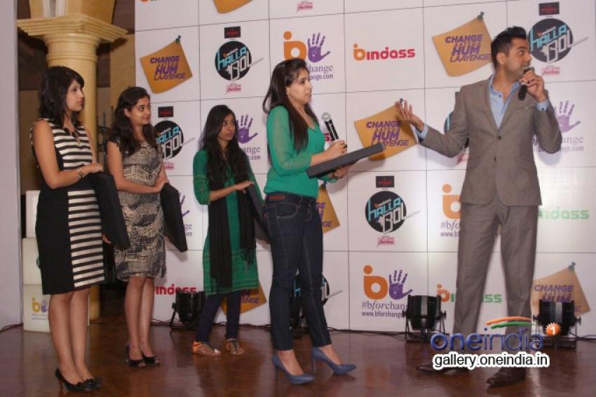 Abhay Deol promote UTV Bindass tv shows in New Delhi Photos