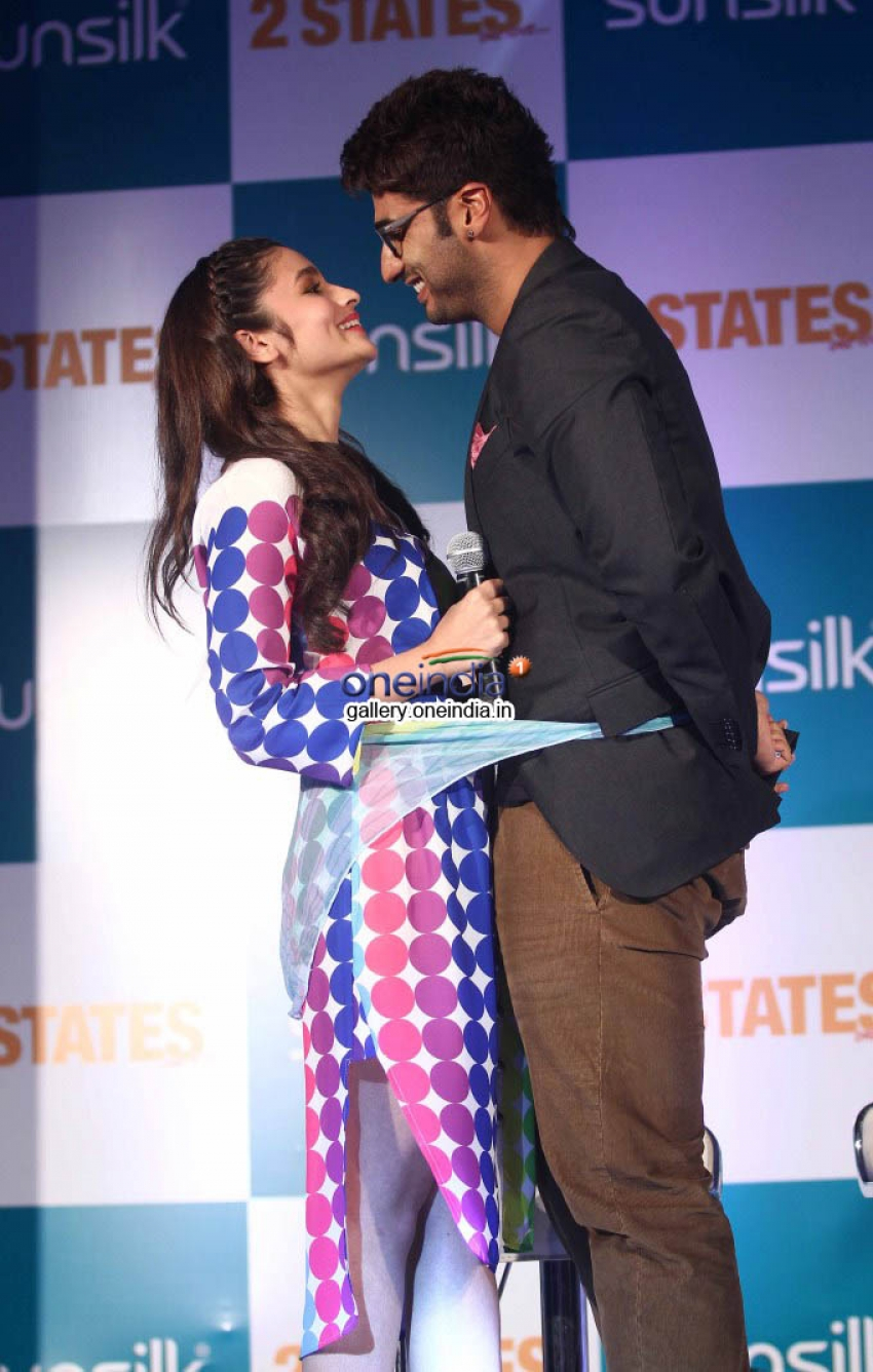 2 States Movie collaboration with Sunsilk Photos
