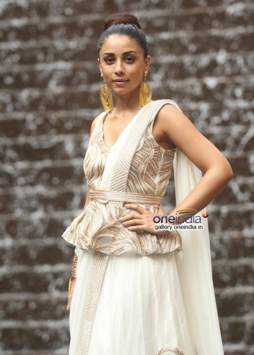 Amrita Puri walks for Ritika Mirchandani at LFW 2014 Photos