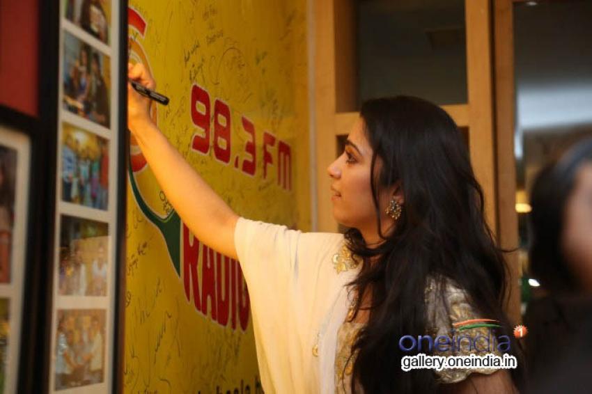 Prathighatana Team at Radio Mirchi Photos