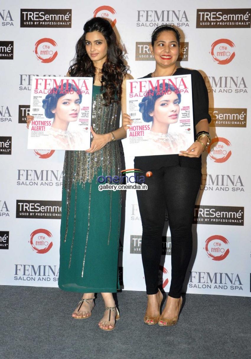 Diana Penty launches Femina Salon & Spa cover Photos