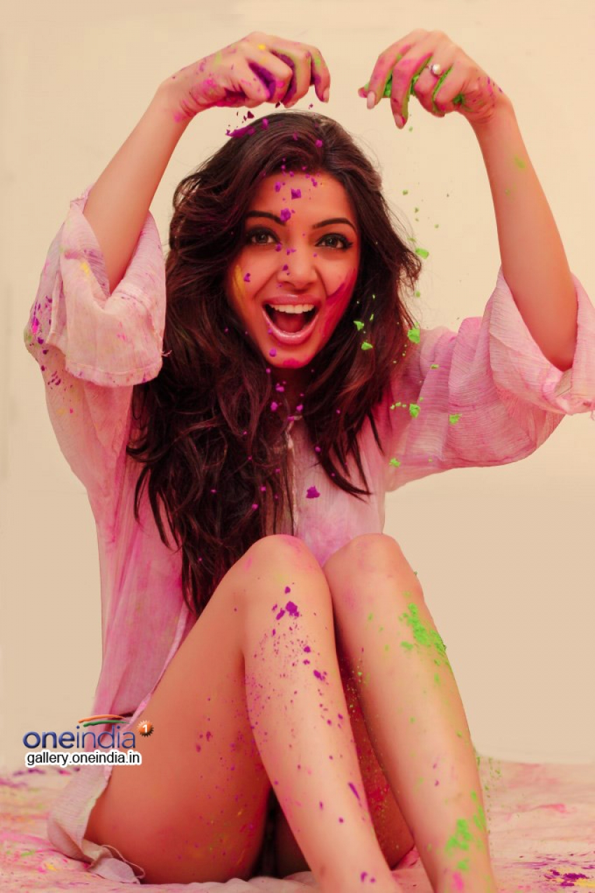 Dimple Chawla's Holi Photoshoot Photos