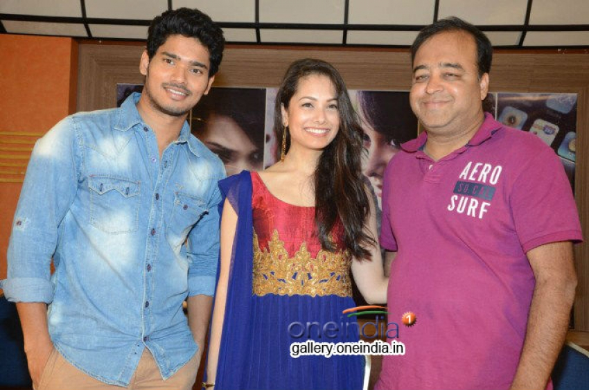 Hang Up Movie Press Meet Photos