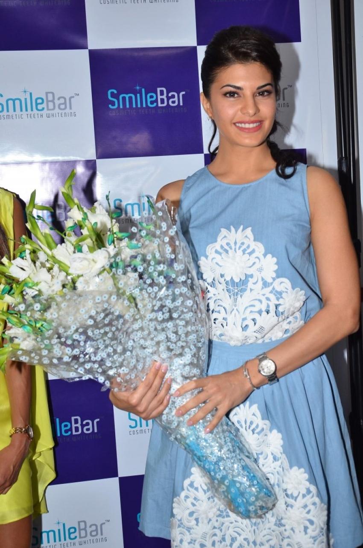 Jacqueline Fernandez At Dental Specialty Clinic Smile Bar Photos
