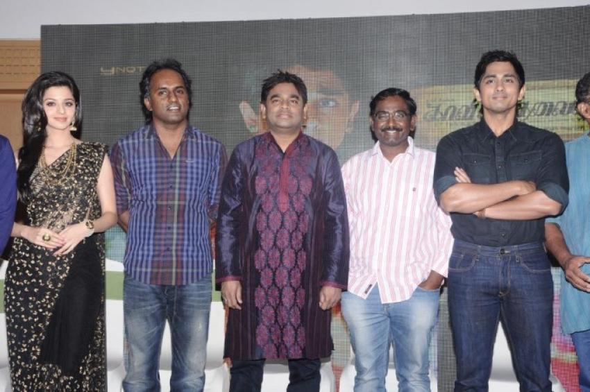 Kaaviya Thalaivan First Look Launch Photos