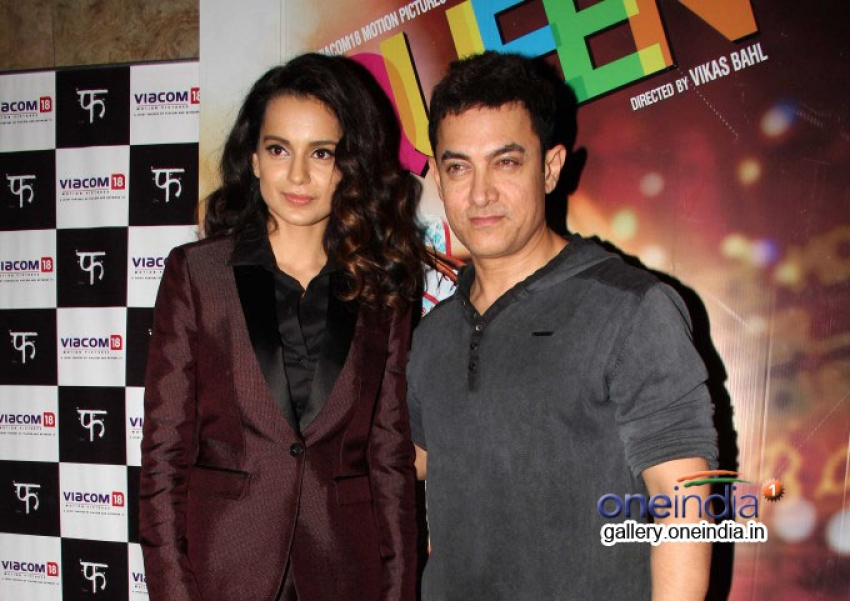Queen film special screening for Aamir Khan Photos