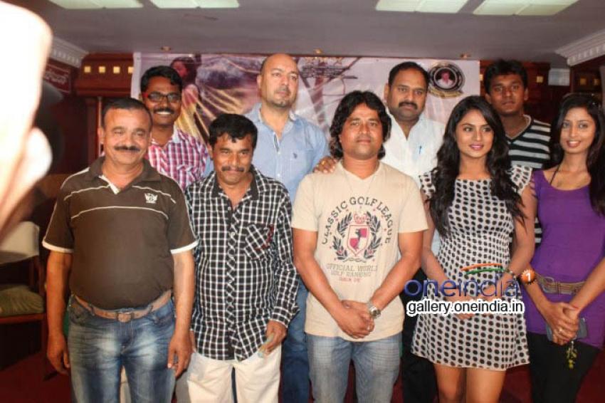 Kanji Pinji Love Movie Press Meet Photos