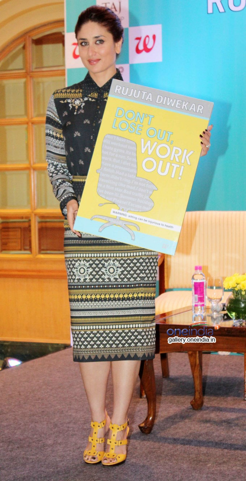 Kareena Kapoor at launch of Book Don't Lose out, Work out Photos