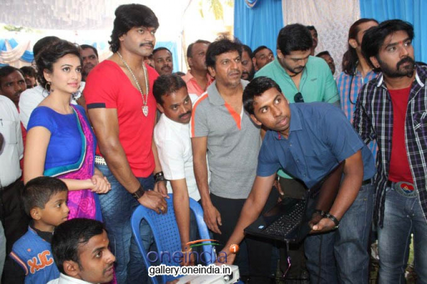 Shivrajkumar's Belli Movie Launch Photos