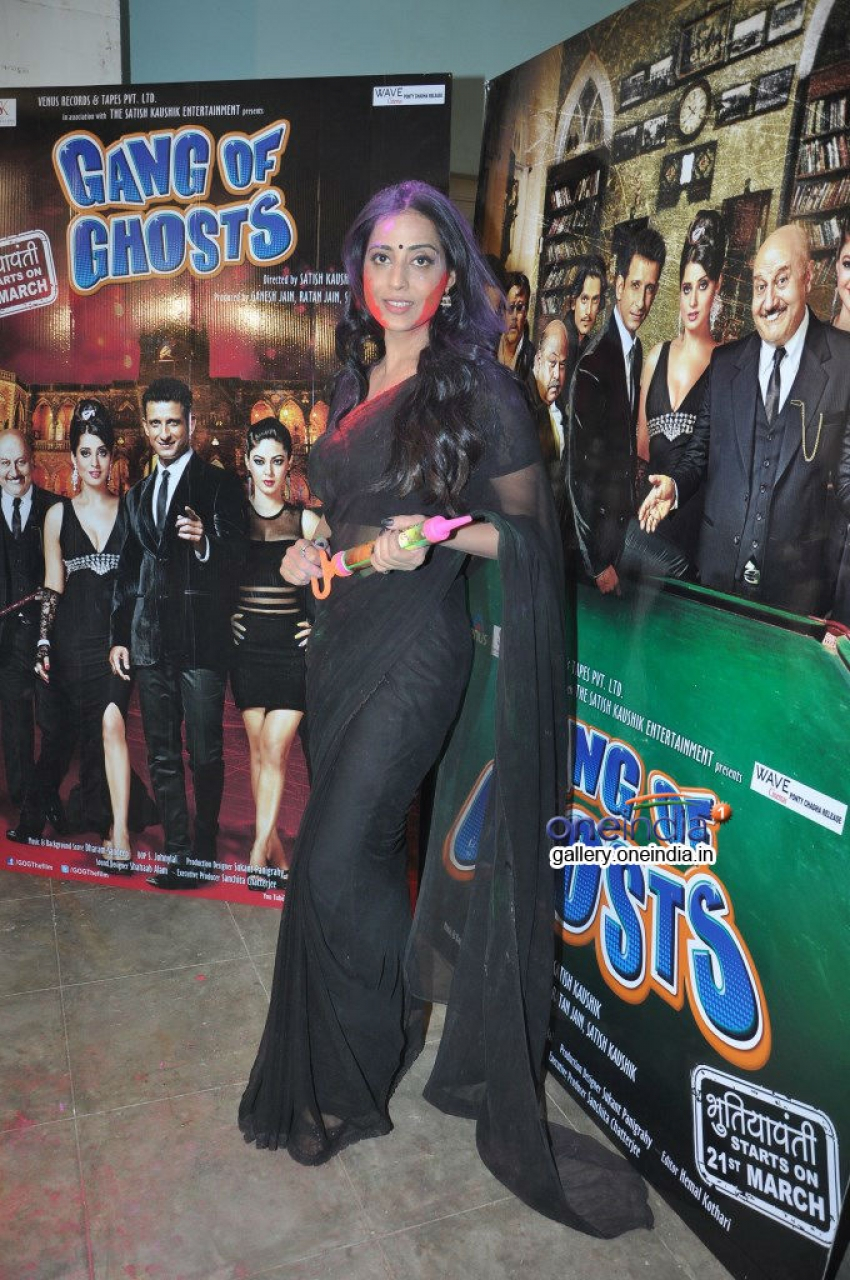 Gang Of Ghosts film starcast celebrates Holi at Mehboob Studio Photos